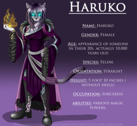 Commission: Haruko