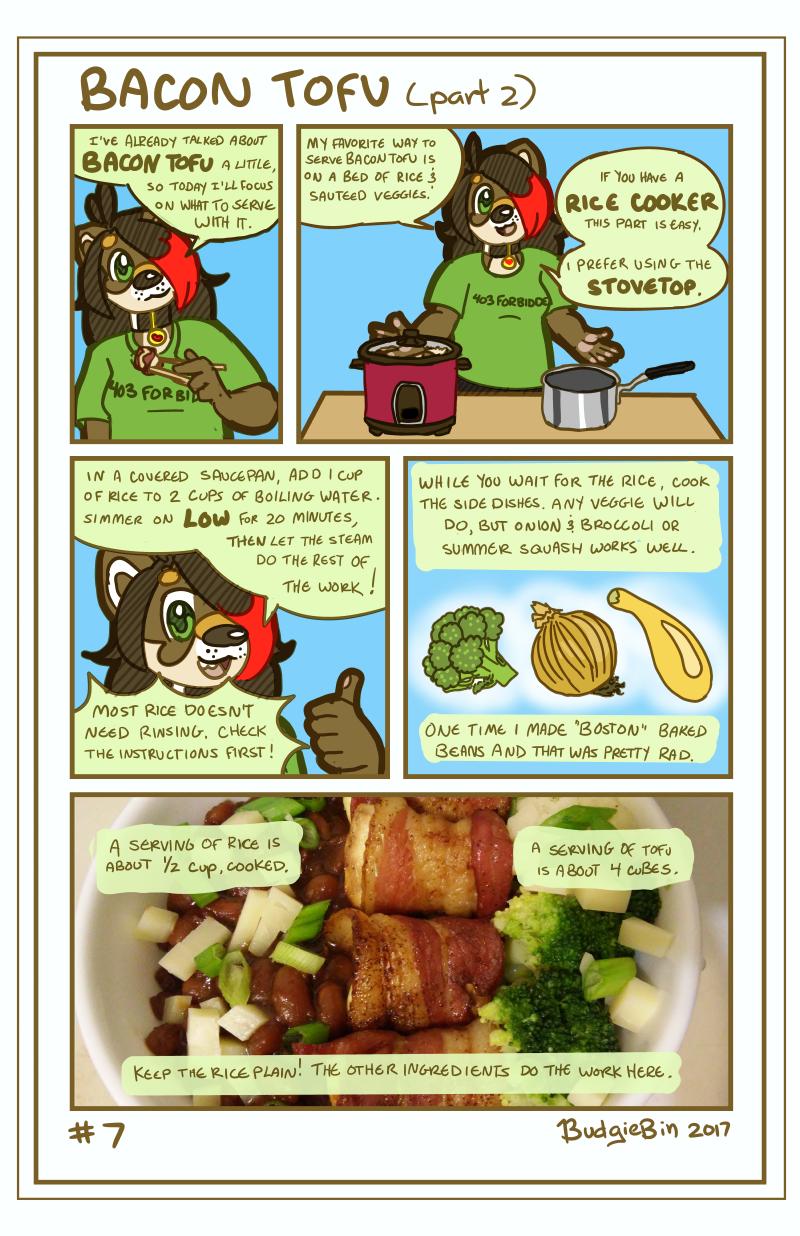 Bacon Tofu (part 2)