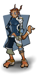 Finch Character 3D dev