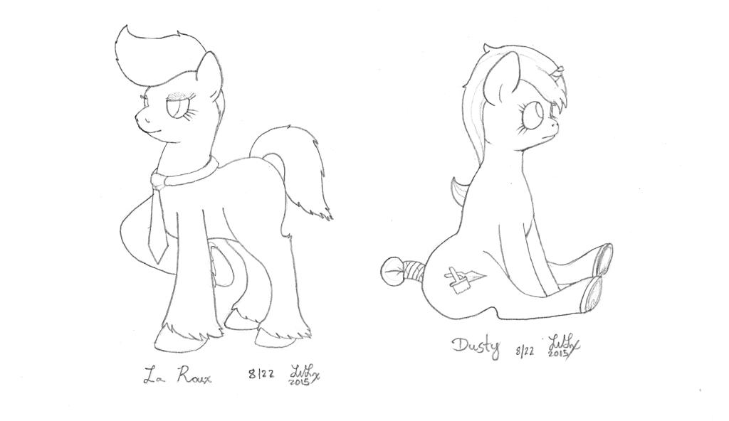 Ponies - Dusty + La Roux