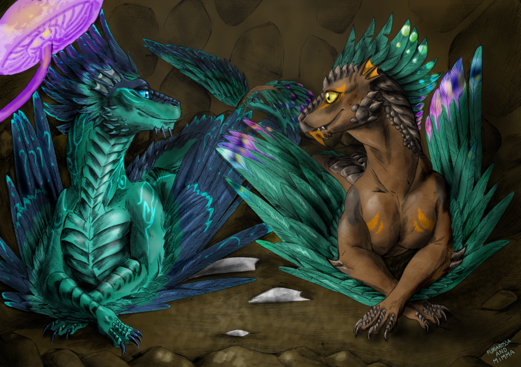Commission - Together in the nest