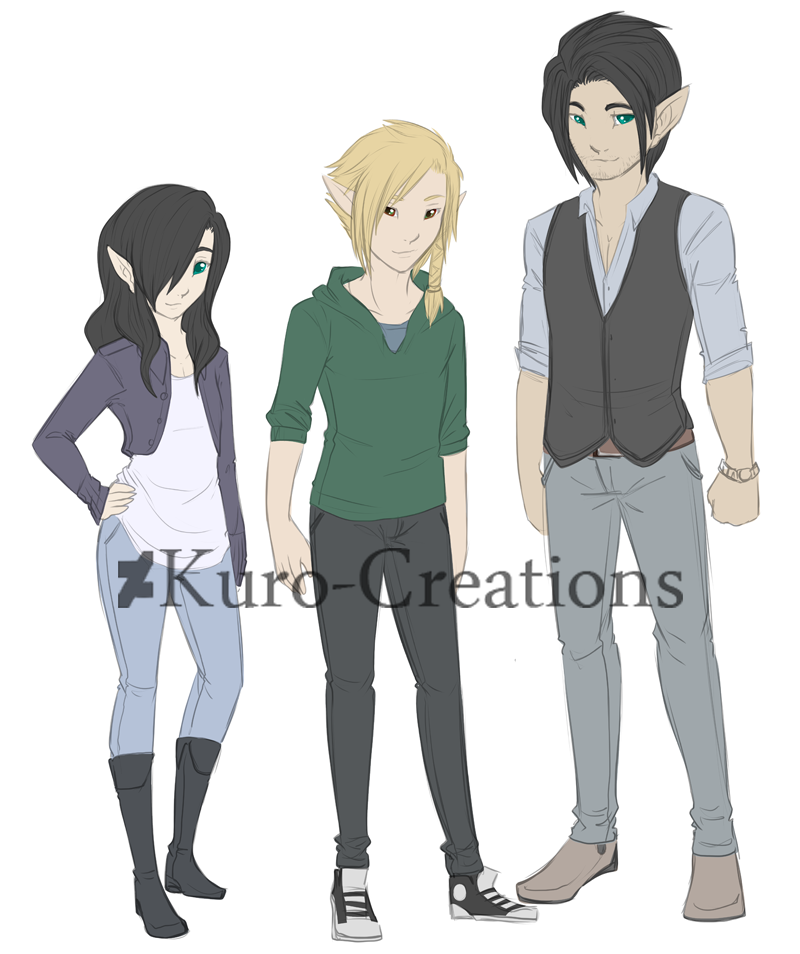 Most recent image: Isaak, Otto, and Evie