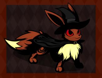 Witch Eevee 1/2 (Dark Version)