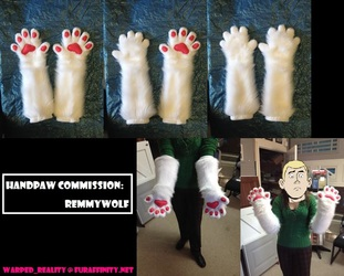 Handpaw Commission: RemmyWolf