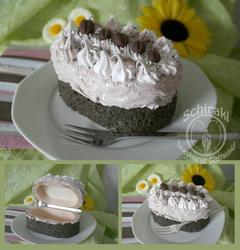 fake-cake coffee-cream