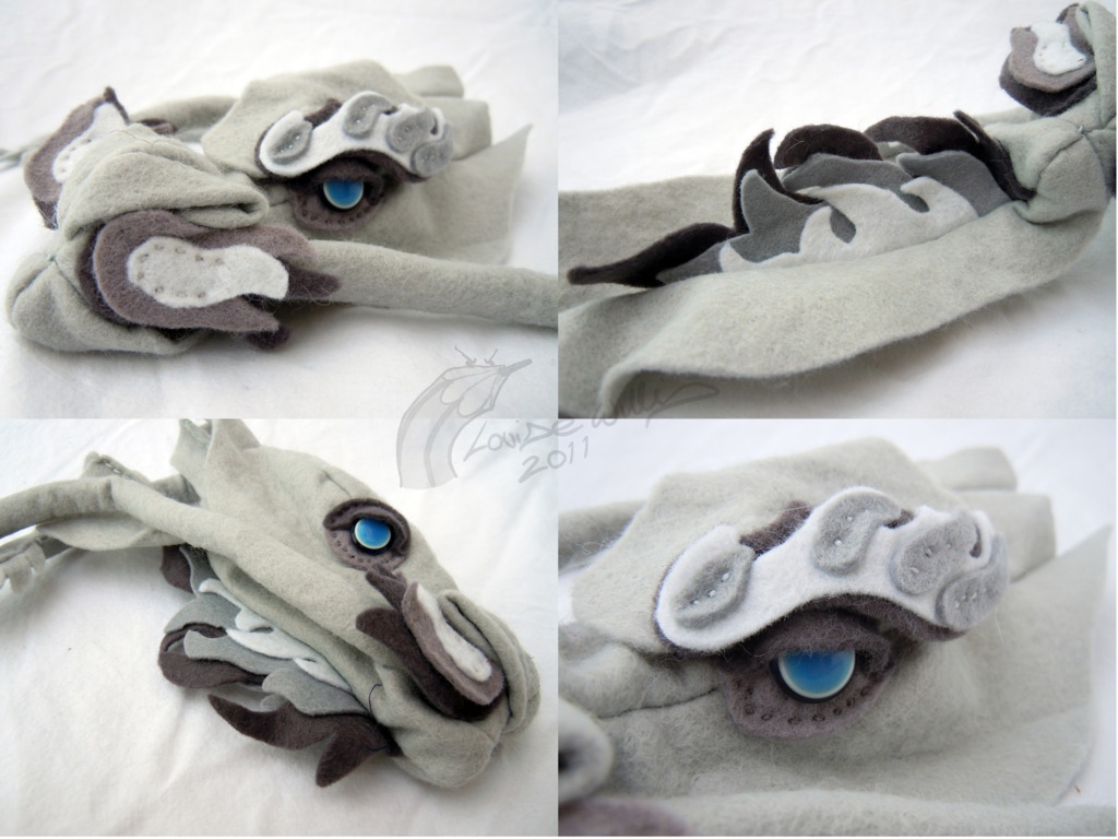 Unfinished Monochrome Dragon extra details