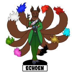 Pathfinder Echoen - Kitsune