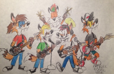 The Punk Foxes