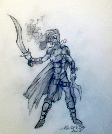 Most recent image: Un-named warrior