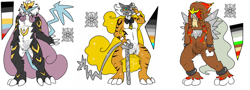 Manly Legendary Beasts +Designs 4 Sale+