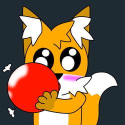 Balloon Blow Sticker