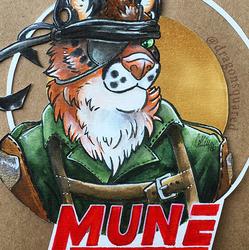 Con Badge - Mune