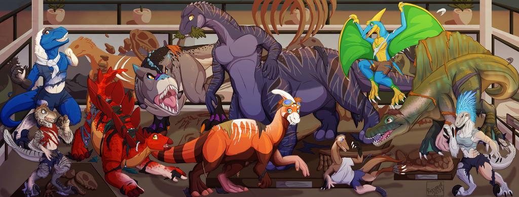 Most recent image: [c] Dino Night!