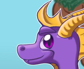 The purple Dragon!