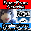 Peter the Cat Reads Crazy InfoWars Store Reviews