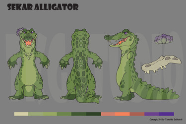 Sekar Alligator Character Reference