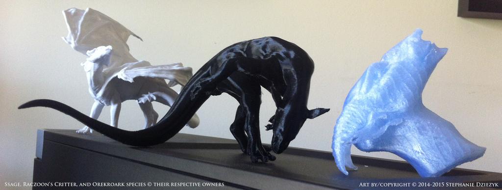 3D Prints - Character Calvacade 1