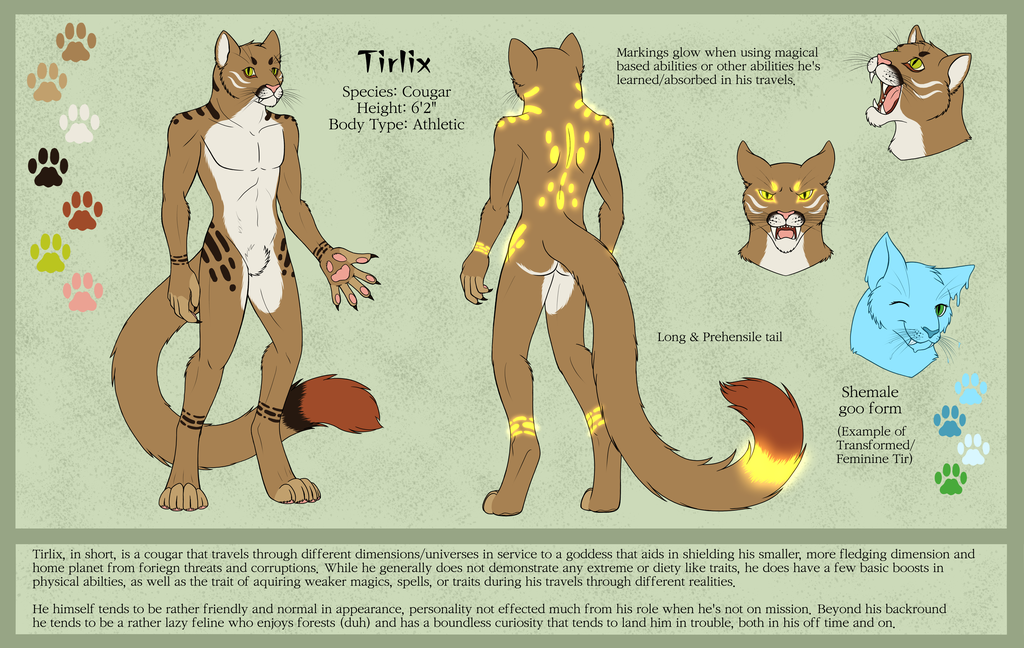 Tirlix Ref - SFW version