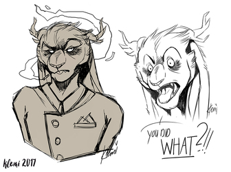 Oh Leo (Sketches)