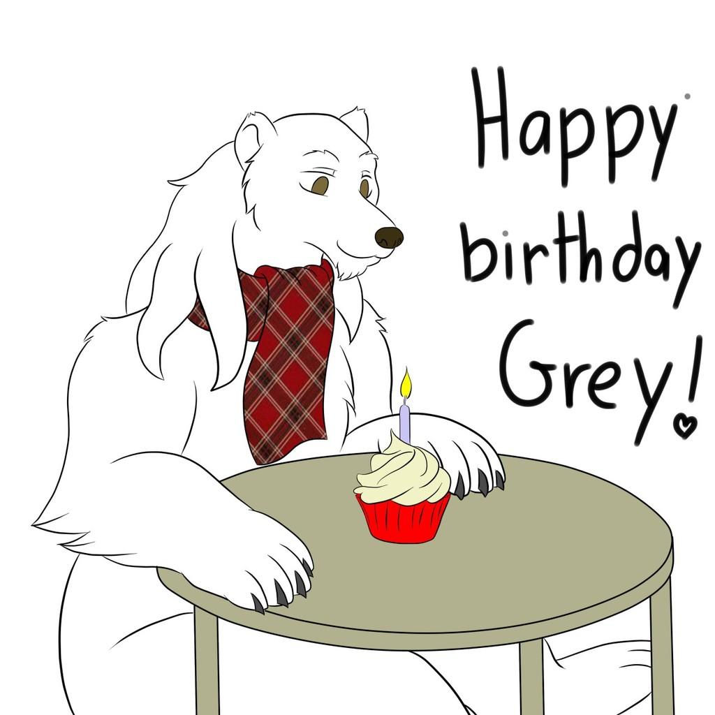 GFT - birthday bear (Greyfox)
