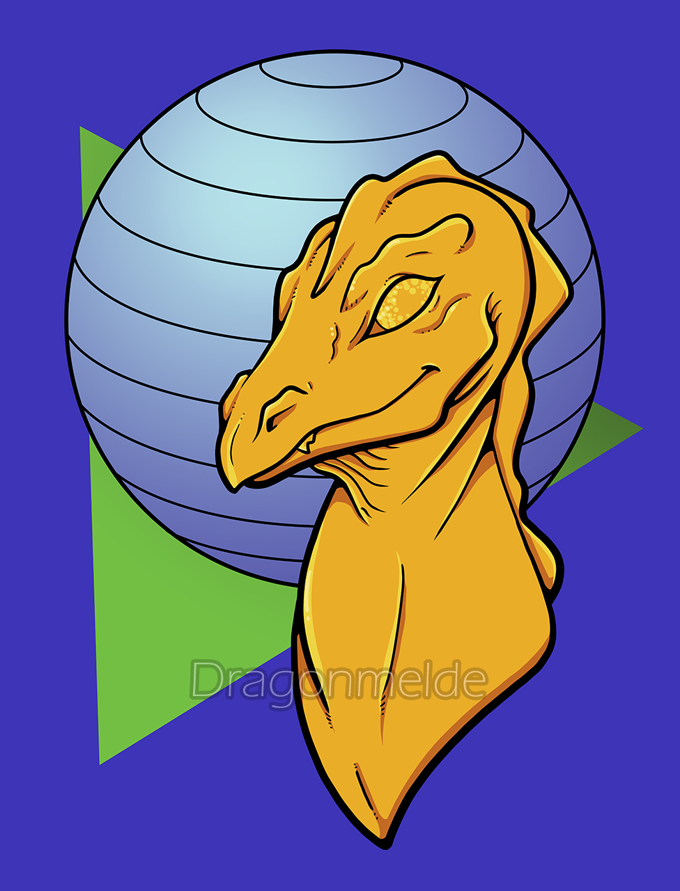 Retro Dragon