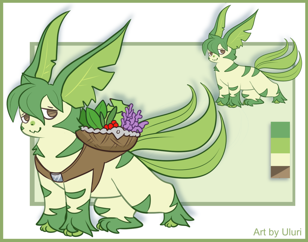 Beta Leafeon [Contest Entry]