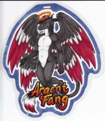 ArgentFang Badge