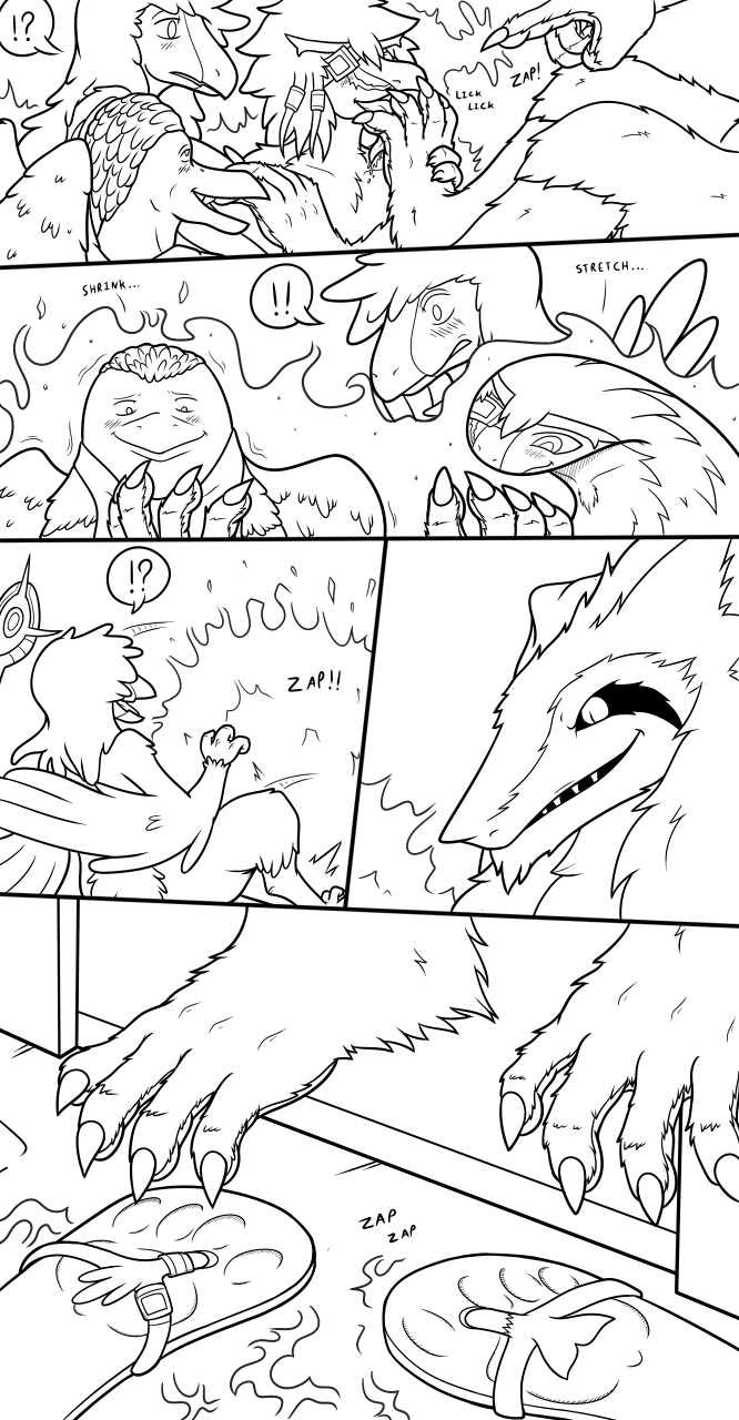 """Com: """"This Sergal King Requires Paw Worshipers..."""" Page 3"""