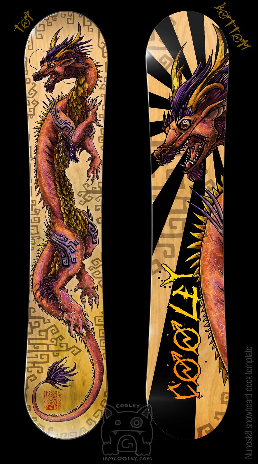 Dragon Snowboard Design