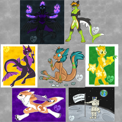 [Patreon] July Sketches/Flat Colors