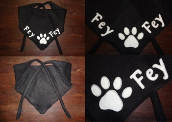 Fursuiter scarf for Fey