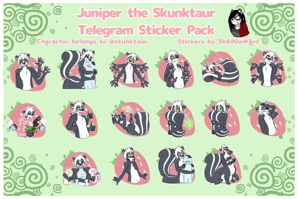 Juniper Telegram Stickers