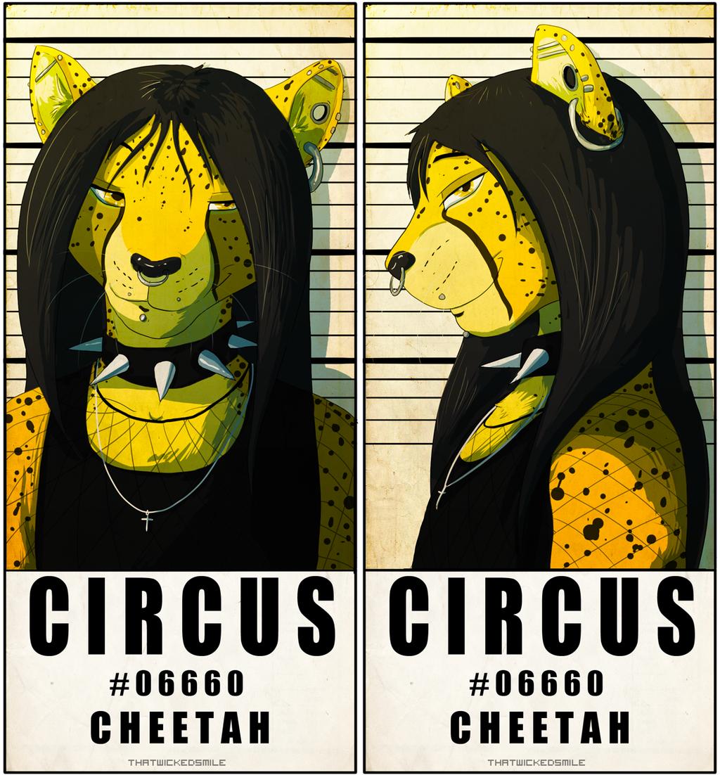 MugShot Badge - Circus