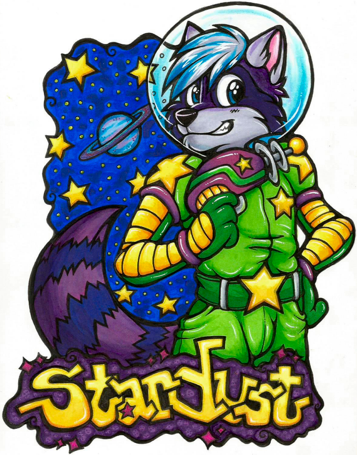 Stardust Badge (FWA 2015)