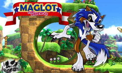 Maglot in Sonic Land