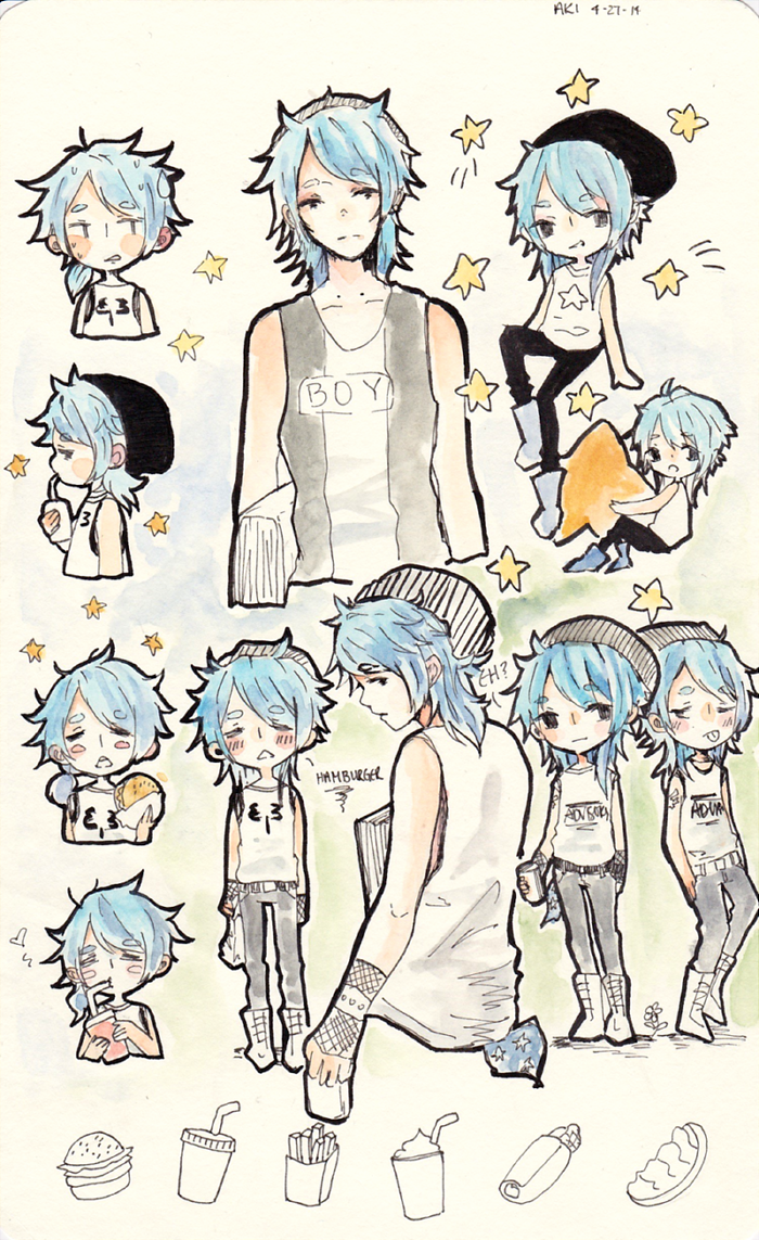 Most recent image: sketch page homoechii