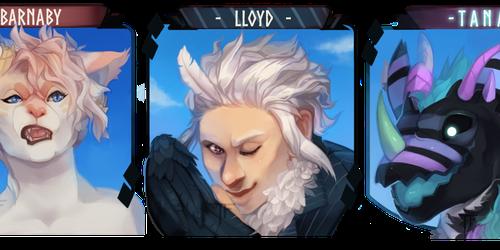 Barnaby, Lloyd, Tana Icons [COM]