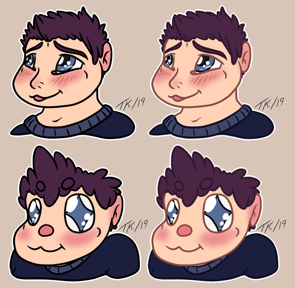 Most recent image: Human Tabii Stickers