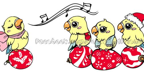 Singing lovebird