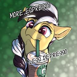 Taxi Needs More Espresso Less Depresso
