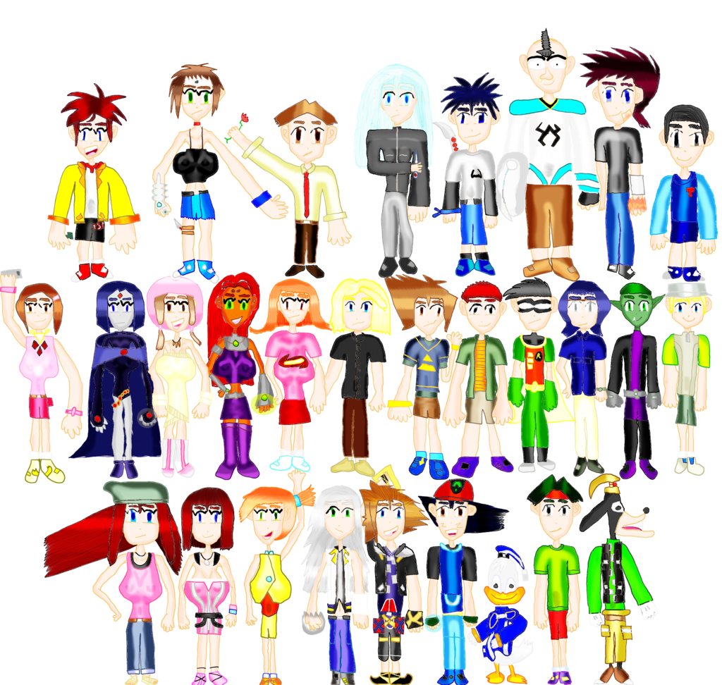 Most recent image: Zak's favorite (animesque) characters