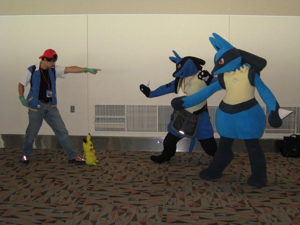 Otakon 2013 - Ash vs. Lucarios