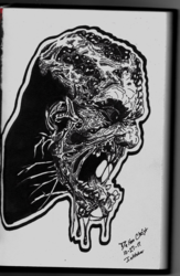 Dying Light (Inktober 2017, Piece 27)