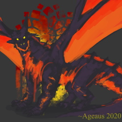 DARKSIDE - Nightdragon by Ageaus