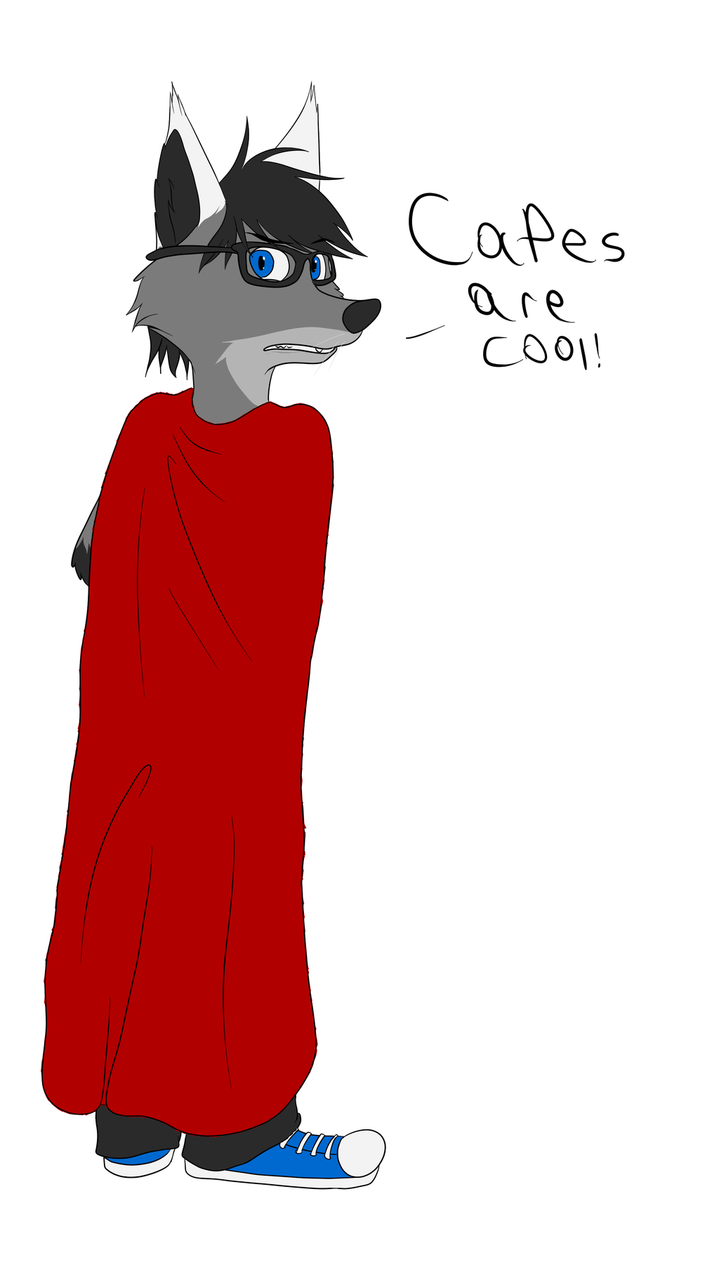 Capes are cool!