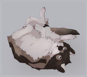 Playful Wolf by Kurayami Sheo