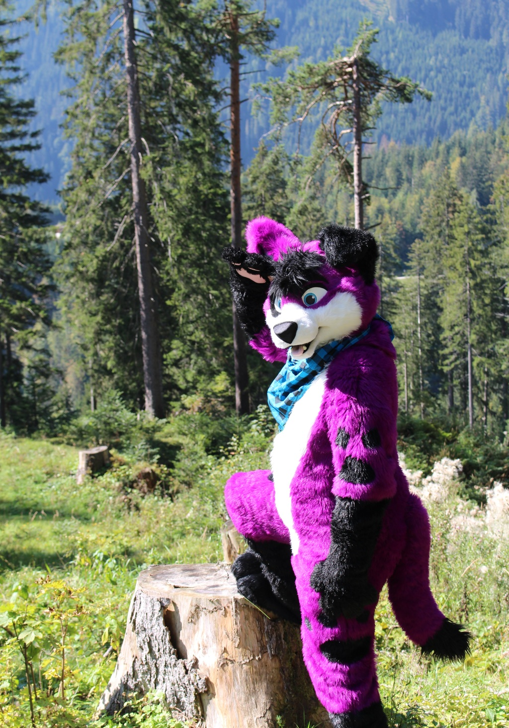 Look out for Fursuit Friday