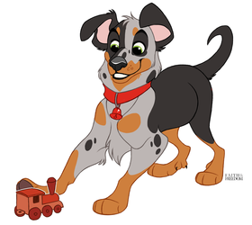 Poochember DAY 29 - Beauceron