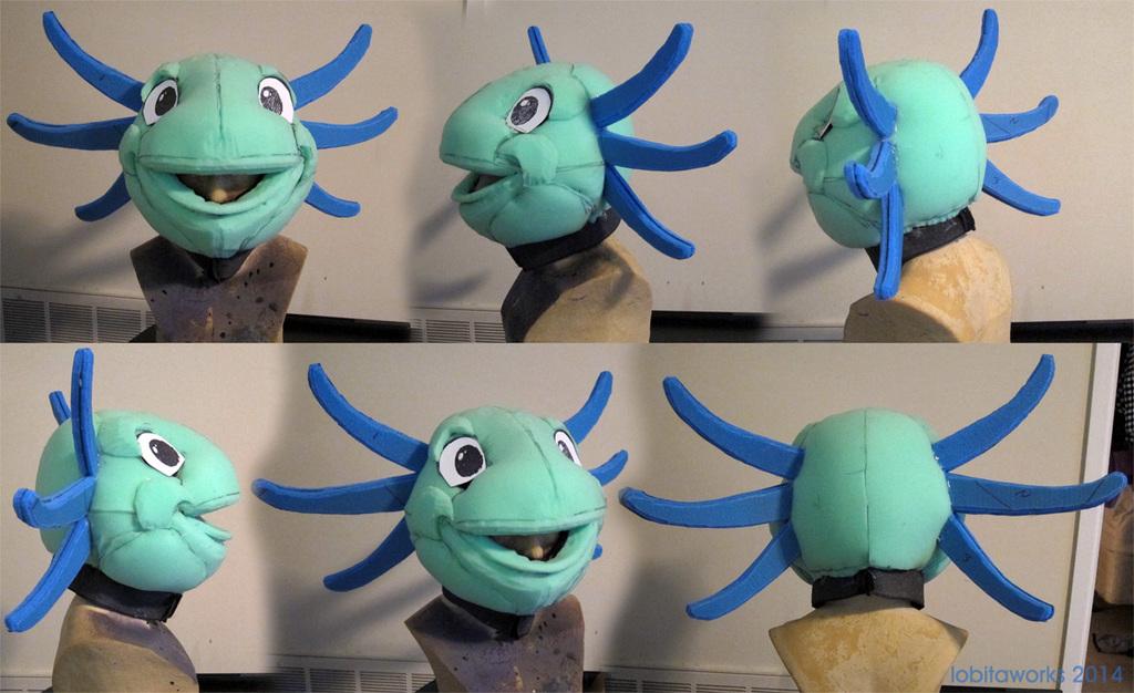 Axolotl WIP Head