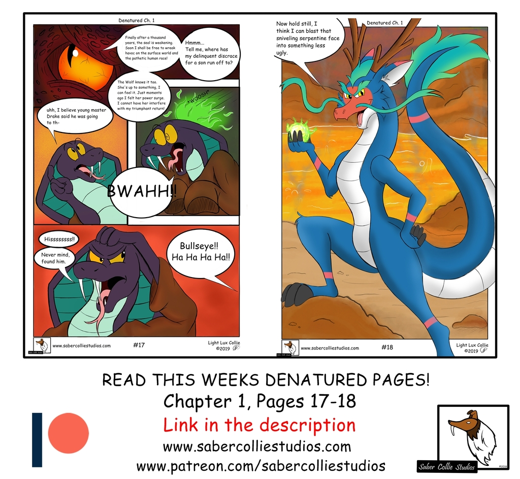 Denatured Chapter 1, Pages 17-18